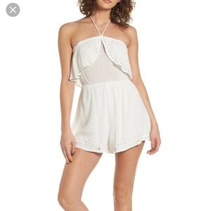 Lush white romper from Nordstrom